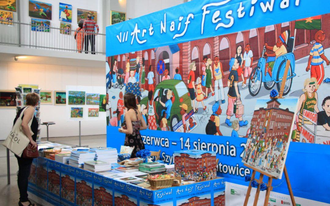 VII ART NAIF FESTIWAL W GALERII SZYB WILSON